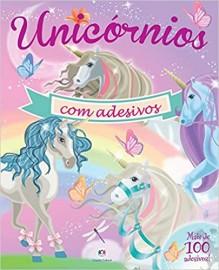 Unicornios Com Adesivos - Rosa