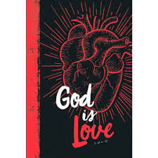 Biblia NVT God Is Love - Capa Dura