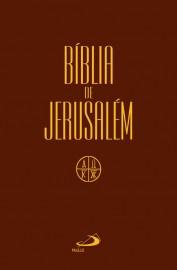 Bíblia de Jerusalém Media Capa Cristal