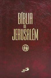 Bíblia de Jerusalém Media Capa Ziper