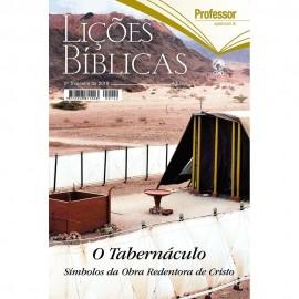 Revista Adulto Professor Capa Dura - O Tabernáculo