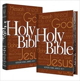 Biblia King James Fiel 1611 - Holy - Concordancia e Pilcrow