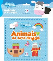 Colorindo no Banho - Animais da Arca de Noe - Livro de Banho