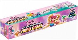 Barbie Em Um Mundo de Vídeo Game - Livro Rolo