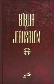 Bíblia de Jerusalém Media Capa Encadernada