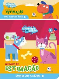 Colorindo no Banho - Animais de Estimacao - Livro de Banho