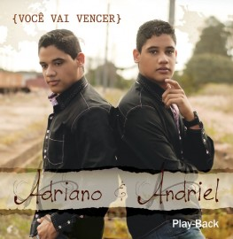CD Adriano e Andriel - Você Vai Vencer - PB Incluso