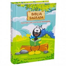 Biblia Smilinguido NTLH Capa Dura Turma do Smilinguido