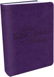 Bíblia King James Para Mulheres Fiel 1611 - Roxa