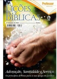 Revista Adulto Professor Capa Dura - Adoração, Santidade e Serviço