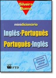 Mini Dicionario Ingles / Portugues - Silveira Bueno - FTD