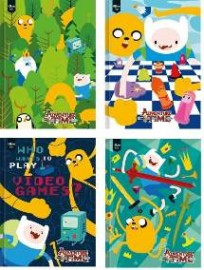Caderno 1/4 Brochura CD 96 Fls Tilibra - Adventure Time