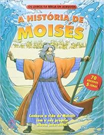 A Historia de Moisés - Livro da Bíblia em Adesivos