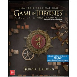 Blu-Ray Game Of Thrones - 2ª Temporada Steelbook