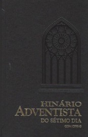 Hinário Adventista Grande Musica e Cifra Preto Capa Dura