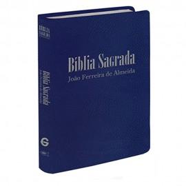 Biblia RC Mini Bolso Luxo Azul