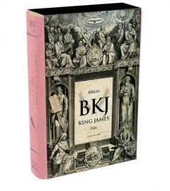 Bíblia King James Fiel 1611 - Rosa - PJV