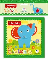 Fisher Price - Elefante - Livro de Banho