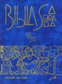 Biblia Edicao Pastoral Grande Capa Dura Azul