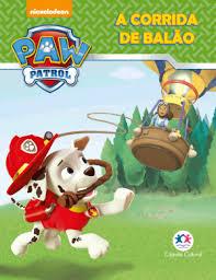 Mini Livro - Patrulha Canina - A Corrida de Balão