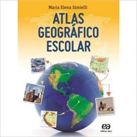 Atlas Geográfico Escolar - 36ª Edição - Atica