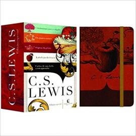 Box C. S. Lewis 5 Volumes + 1 Caderno